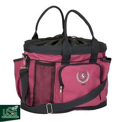 USG Large Grooming Bag – Fuchsia/Navy – Handy Bag For Competition Days