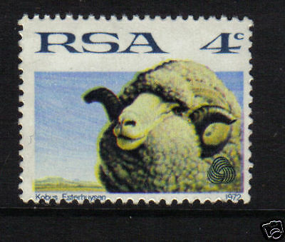 SOUTH AFRICA 1972 SG.310 - 4c SHEEP UNMOUNTED MINT MNH