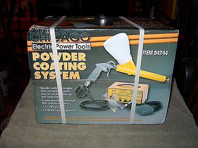 Chicago Electric Powder Coating System P/n 94244 & Red & Paint