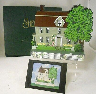 Shelia's 1998 Dealer Event Piece THE OLD MANSE Concord,Mass-AMERICAN REVOLUTION