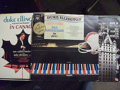 Duke Ellington 3Lp Lot.  Jazz At The Plaza/all American/north Of The Border