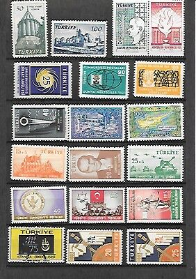 Turkey Collection Mint Never Hinged Sets