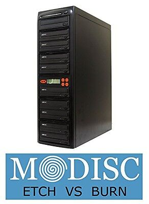 Systor Systems Systor 1 to 9 M-Disc 24X CD / DVD Multi Target Duplicator Tower
