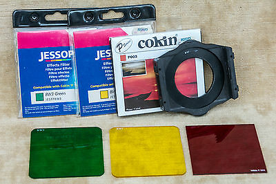 Genuine Cokin Filter Holder + 3 Filters with 52mm Adapter