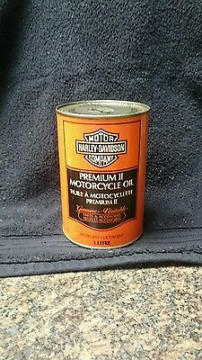 Harley Davidson oil can