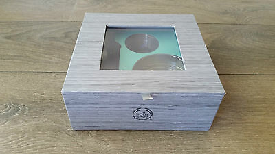 NEW NEVER USED The Body Shop Grey Gift Box Perfect Condition