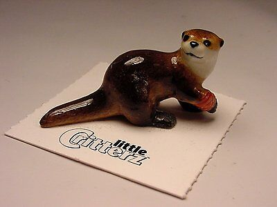"Little Critterz - LC609 ""Webster"" Rescue Otter"