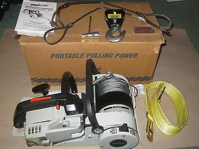 Mint Rule Echo Gas-Powered Chainsaw Winch G1800E w/ Accessories chain saw