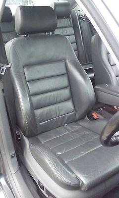 Audi A6 Leather Seats and Door Cards
