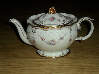 "Royal Crown Derby"" Royal Antoinette Teapot, 1St,quality, 2,pint Capacity"""