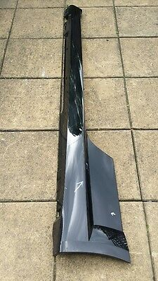 Genuine! Audi Tts Side Skirt, Passenger Side, 2015 Onwards, 8S0853855 C, Black
