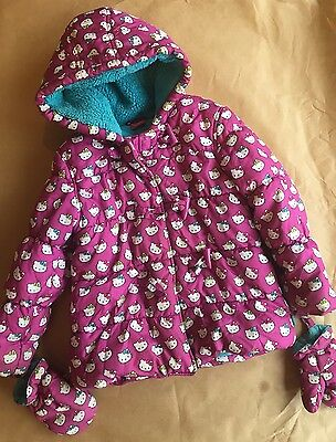 Hello Kitty Girls Jacket With Gloves