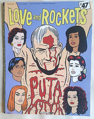 Love And Rockets Issue Number #47