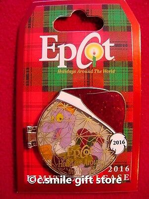Disney Pin 2016 Epcot Holidays Around the World Figment Limited Release