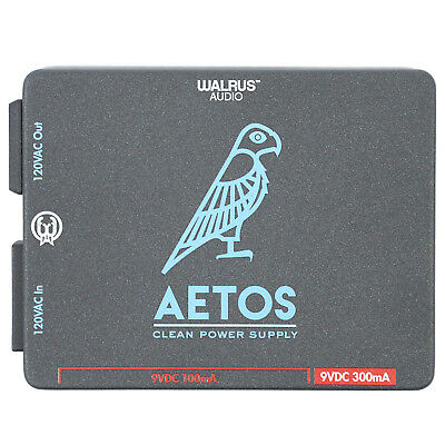 Walrus Audio Aetos 120V Power Supply 8 Isolated Outputs Effect Pedal