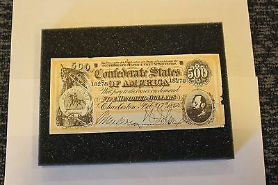 Confederate Currency from the Charleston S.C. Chamber of Commerce (1960's)