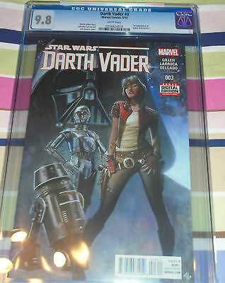Darth Vader 3 CGC 9.8 1st App of Aphra, 0-0-0 and BT-1