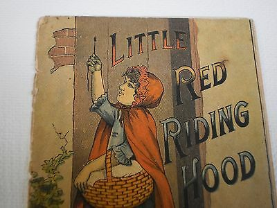 antique trade card little red riding hood star soap schultz & co 4 pages rare