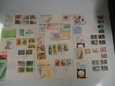 Papua New Guinea Png 1970's First Day Cover Collection X 15 Covers Lot 2