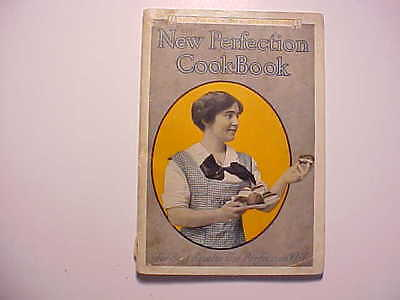 1910 New Perfection Kerosene Ranges Stoves Owners Manual Cook Book Vg
