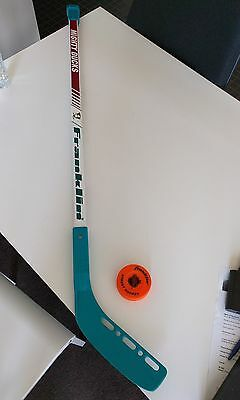 Mighty Ducks Hockey Stick and Puck