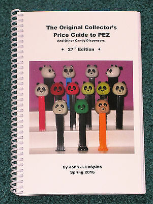 NEW 2016 Original Price Guide to Pez and Other Candy Dispensers -  27th Edition
