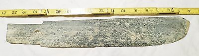 Chinese Erlitou Shang Neolithic Ceremonial Jade Sword 28 Inches