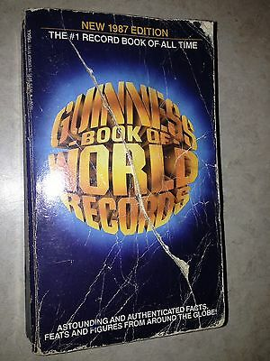 Guinness Book of World Records 1987 paperback edition