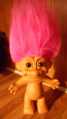 """Russ 5"""" Naked Troll With Pink Hair"""