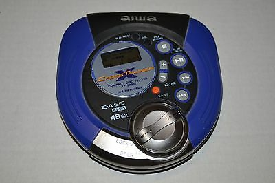 AIWA XP-SP910 Portable CD Player Walkman Discman Tested