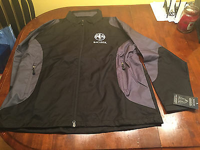 Brand New Bacardi Rum Port Authority Brand Endeavor Wind Jacket Size Xxl