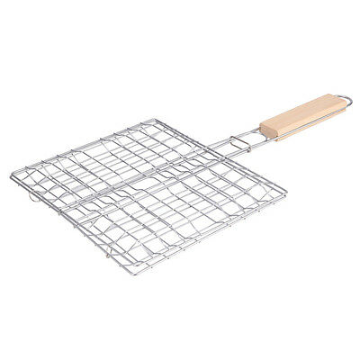 B3 Metal Triple Grilling Basket Picnic Outdoor Barbecue Tool