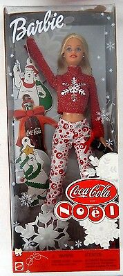 Coca Cola Noel Barbie Brand New In Box! Holiday/Christmas Barbie