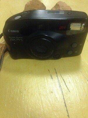 Canon Sure Shot Zoom-S 35mm Point and Shoot Film Camera