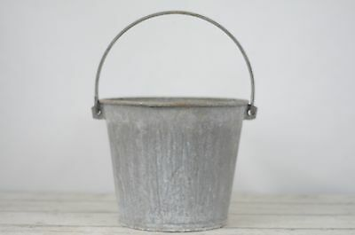 Zinc Bucket Galvanized Bucket Galvanized Metal Dairy Work Bucket Galvanized Pail