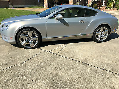 2012 Bentley Continental GT Mulliner Package 2012 Bentley GT Mulliner Rare Color Extreme Silver Low Milage 1 Owner Immaculate