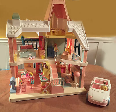 Vintage Playskool Dream Dollhouse Loaded