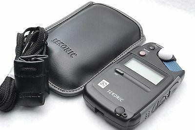 Sekonic Flashmate L-308B Ambient Light Meter w/strap and case from Japan