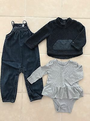 BABY GAP - Girls - Lot of 3 - Fall/Winter Clothes - Size 18-24 Months - CUTE!