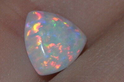 AAA 0.87ct Natural Untreated Precious Opal w/ Great Color Play!!!