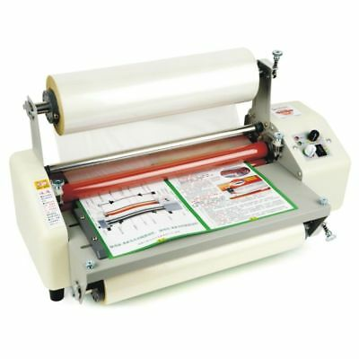 """ECO 13"""" (330mm) A3 Laminator Four Rollers Hot Roll Laminating Machine AC220V"""