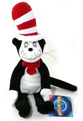"Cat in the Hat 15"" Soft Plush Toy Dr. Seuss Universal Studios"