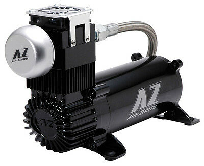 Air Zenith OB2 Black 2nd Gen 12V Air Compressor 200psi 3/4HP 4.25CFM *Authorized