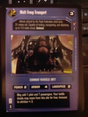 Star Wars CCG Theed Palace Senate Hovercam DS NrMint-MINT SWCCG