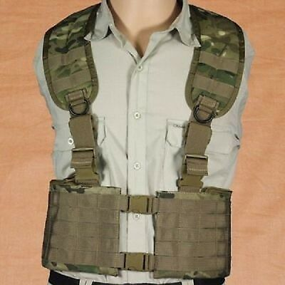 US Multicam Army MOLLE MLE Vest Multi level Load Equipment Harness Weste