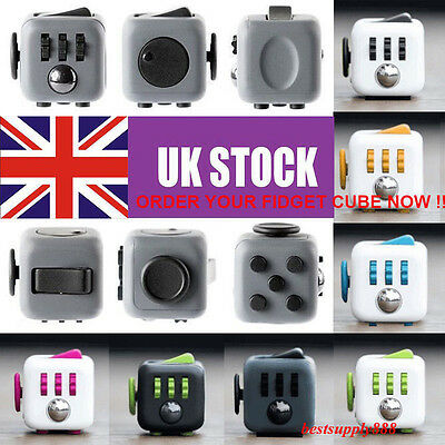 Fast Post Fidget Cube Xmas Children Toy Adults Fun Stress Relief Cubes Gift Xmas