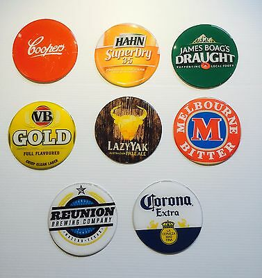 93 Brands Large Beer tap 3D Dome Adhesive Badge for home bar, pub or collector