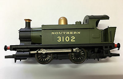Oo Hornby Southern Green 3102 0-4-0T Steam Locomotive 4S