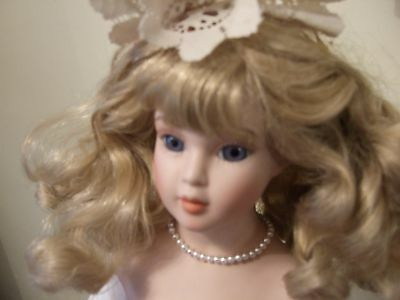"""Vintage  Alberon Collection porcelain doll Marked """"Paul 1987"""""""