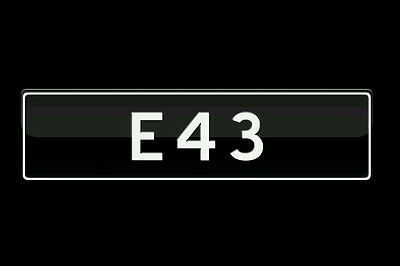 E43 AMG number plates NSW.